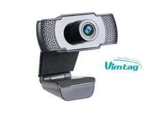 Vimtag webcam 1080P HD with microphone, video calls, USB Plug, Widescreen Video