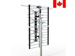 ® 65 Miles Range High Gain VHF / UHF Combo HD TV Outdoor Antenna