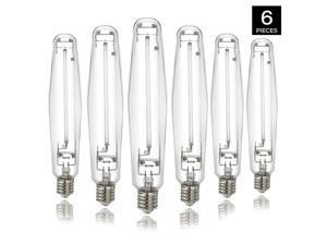 1000w Watt High Pressure Sodium S Grow Light Bulb Lamp 6-PACK