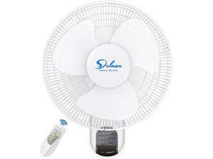 Clip On Fan OR Wall Mount Oscillate Digital Fan for Home Grow Tent
