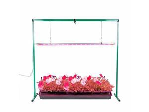 36W 4 Feet LED Grow Light Stand Rack for Seed Starting Plant Growing