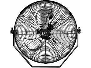 18 Inch High Velocity 3-Speed Wall-Mount Fan Use-ETL Safety Listed