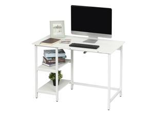 Computer Writing Desk w/ Tiltable Tabletop Table Home Office Workston