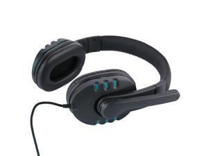 USB Headset Stereo Gaming Headphone Earphone Microphone Mic Ear Cup B21