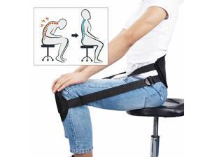 Portable Back Support Belt Pad Sitting Posture Waist Corrector Brace Protector