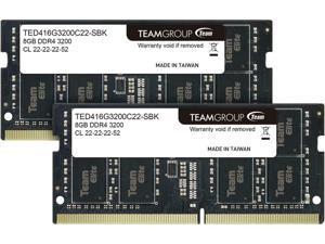 Elite 16GB 2 x 8GB 260-Pin DDR4 SO-DIMM DDR4 3200 PC4 25600 Laptop Memo