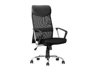 ® Ergonomic Adjustable High-Back Mesh Office Chair - Black