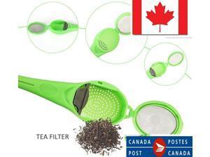 Tea Infuser Plastic Healthy Food Grade Flavor Total Tea Strainer Tea Coffee 1Pcs