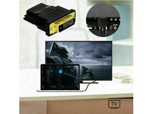 HDMI to DVI-D 24+1 Pin Monitor Display Adapter Cable Converter Female/Male HD