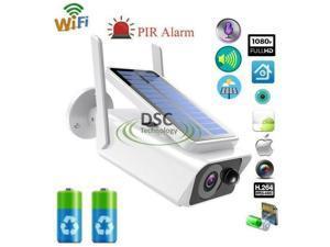 1080P Solar Security Camera Wireless WiFi Outdoor Powered IP Camera NightVision