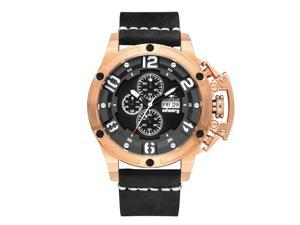 INFANTRY Eagle Boom Men's Automatic Mechanical Watch Mountaineering Outdoor Sports Watch Waterproof Leather Belt Casual Watch