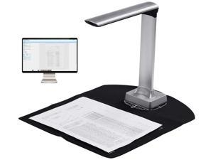 BK30 5 million pixels Document Camera High Definition Portable Scanner A4 Scanners for File Recognition, Computer, Classroom, Online Classes and Office Card Passport Recognition Document Scanner