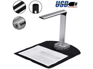 BK32 15 million pixels Document Camera High Definition Portable Scanner High Speed A4 Scanners for File Recognition Passport Recognition Document scanner  with Auto-Focus and LED Supplemental Light