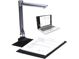 BK F60A 5 Million Pixels Document Camera High Definition Portable Scanner A4 Scanners Smart Office Desk Lamp for File Recognition,  Online Classes and Office Card Passport Recognition Document Camera