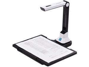 GOPYI BK50 (hard Mat) 10 Mega-Pixel High Definition Scanner Document Camera Portable Scanner A4 Scanners for File Recognition, Online Classes and Office Card Passport Recognition Document Camera