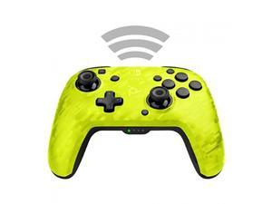 PDP - Faceoff Wireless Deluxe Controller - Yellow Camo - Nintendo Switch