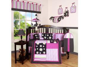 13PCS Charming Flower Baby Nursery Crib Bedding Sets By Geenny