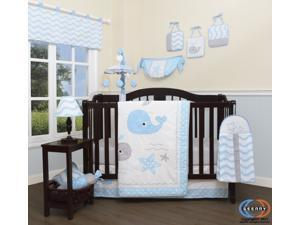 13PCS  Lovely Whale Baby Nursery Crib Bedding Sets  By Geenny