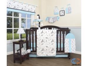 13PCS New Woodland Forest Deer Baby Nursery Crib Bedding Sets By Geenny