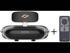 VR Headset,GOOVISPro +GoovisD3 VR ,Sony 1920x1080x2 HD Screen, 3D Theater Goggles,3D Viewer Support 4K Blue-ray Display,Bluetooth 4.1Media Player Controller for Goovis G2 Headset/Goovis