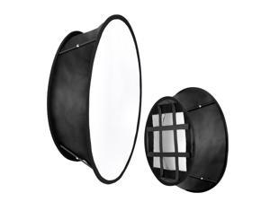 Neewer Collapsible Softbox Diffuser Compatible with Neewer 480/660/530 LED Light Panels, 11.5x11.5inches Opening with Strap Attachment and Carry Bag for Photo Studio Portrait Video Shooting