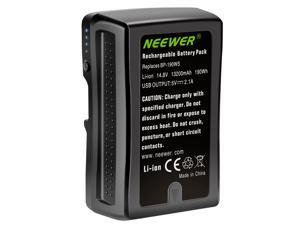 Neewer V Mount/V Lock Battery - 190Wh 14.8V 13200mAh Rechargeable Li-ion Battery for Broadcast Video Camcorder, Compatible with Sony HDCAM, XDCAM, Digital Cinema Cameras and Other Camcorders