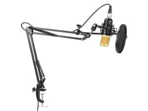 Neewer Professional Studio Condenser Microphone and Adjustable Suspension Scissor Arm Stand (NW-8000)