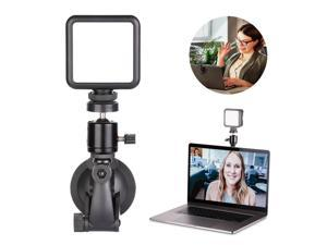 Neewer key Light/Video Conference Lighting Kit, Dimmable Laptop Light with Strong Suction Cup and Ball Head for Remote Working/Zoom Calls/Self Broadcasting/Live Streaming/Online Teaching/Game