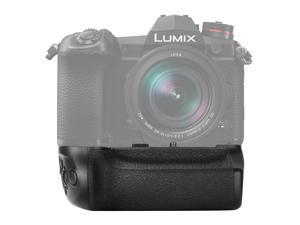 Neewer Battery Grip Compatible with Panasonic Lumix G9 Camera Replacement for DMW-BGG9 with Shutter Release Focus Point Control Joystick Work with 1 DMW-BLF19E Li-ion Battery (Battery Not Included)