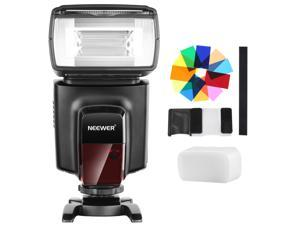Neewer TT560 Flash Speedlite with 12 Color Filters and Hard Diffuser Kit for Canon Nikon Panasonic Olympus Pentax and Other DSLR Cameras