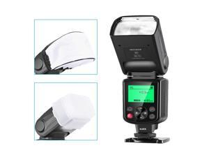 Neewer NW635 GN58 TTL Flash Speedlite with LCD Display and Soft Diffuser Compatible with Sony MI Hot Shoe Cameras A9 A7RIV/III A7III A6600 A6500 A6400 A6300 A6000 A99II A77II RX10IV