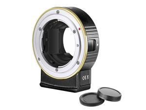 Neewer Electronic AF Lens Mount Adapter Auto Focus Compatible with Nikon F Lens to Sony E-Mount Cameras Only Compatible with Sony A9M2/A9/A7R4/A7R3/A7R2/A7M3/A7M2/A6600/A6500/A6400/A6300/A6100