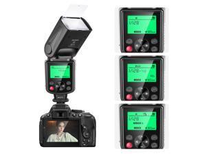 Neewer 750II TTL Flash Kit for Nikon D7200 D7100 D7000 D5500 D5300 D5200 D5100 D5000 D3300 D3200 D3100 D3000 D700 D600 D500 D90 D80 D70 D60 D50 Cameras with Wireless Trigger,Color Filters, Diffuser