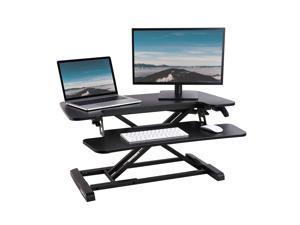 FlexiSpot 32 Inch Height Adjustable Standing Desk Converter
