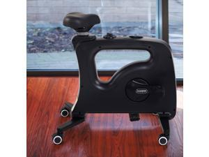TikTok Famous Desk Bike Chair FlexiSpot Adjustable Exercise Workstation Bike Chair Home Office Desk Chair Cycle for Work From Home Black