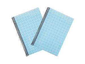 Superior Check and Debit Card Register Simple Account Tracker Blue 2 Pack