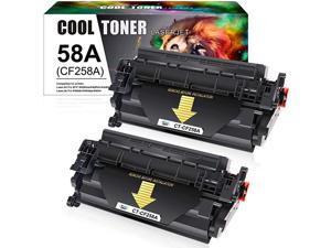 Toner Compatible Toner Cartridge Replacement for HP 58A CF258A 58X CF258X HP Laserjet Pro M404n M404dn MFP M428fdw M428fdn M404dw M428dw M404 M428 M304 Printer Toner Ink Black 2Pack