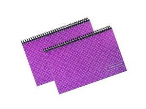 Superior Check and Debit Card Register Simple Account Tracker W I D E Edition Purple 2Pack