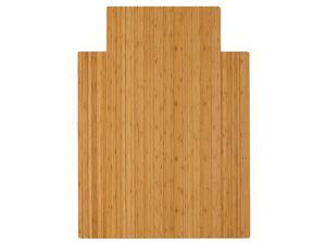 Standard Bamboo RollUp Chairmat 36 x 48Inch 8mm Thick Natural