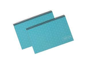 Superior Check and Debit Card Register Simple Account Tracker 2Pack Teal 2 Pack