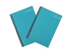 Check and Debit Card Register Simple Account Tracker Teal 2Pack