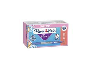 Paper Mate Flair Felt Tip Pens Ultra Fine Point Limited Edition Candy Pop Pack Box of 36Packaging may vary