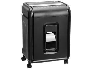 12Sheet HighSecurity MicroCut Paper CD and Credit Card Shredder with Pullout Basket