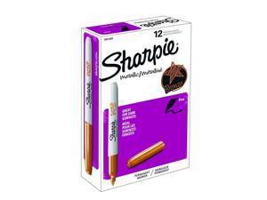 Sharpie Fine Tip Metallic Permanent Marker Bronze Pack of 12