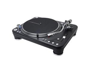 ATLP1240USBXP Direct-Drive Professional DJ Turntable (USB & Analog), Black, Selectable 33 -1/3, 45, and 78 RPM Speeds, High-torque, Multipole Motor, Convert Vinyl to Digital