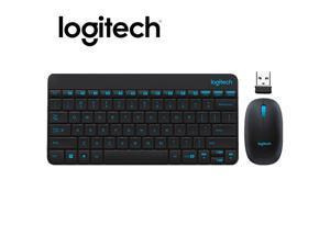 Logitech MK245 Gaming Keyboard Set USB Nano Wireless 1000DPI Ergonomic Mouse Combos Set for Home Office Notebook Laptop
