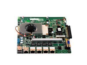 Industrial Baytrail quad core J1900 processor motherboards integrated 4GB RAM with 4 Gigabit Ethernet LAN port motherboard