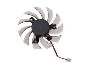 PowerLogic 75MM PLD08010S12H 2Pin 3Pin Cooler Fan For NVIDIA GeForce GTX 560 460 Ti R7 260x R270X MSI 560 Ti Graphics Video Card