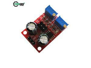 5V-12V NE555 Pulse Frequency Duty Cycle Adjustable Module Square Wave Signal Generator 10kHz -200kHz for arduino