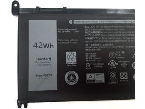 WDX0R Laptop Battery for Dell Inspiron 13 5368 5378 5379 7368 7378 Inspiron 14-7460 Inspiron 15 5565 5567 5568 5578 7560 7570 7579 7569 P58F Inspiron 17 5765 5767 FC92N 3CRH3 T2JX4 CYMGM - 42Wh/11.4V